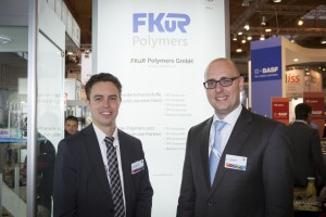 Fakuma 2015: Christian Dohmen and Jascha Jancsovics (Sales Manager)