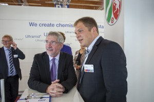 State Secretary Dr. Günther Horzetzky together with Olaf Radke